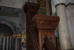 Saladin Pulpit 1137-1193 (jadallah) Tags: life travel art beauty peace palestine westbank ramallah refugee islam middleeast mosque arab oldcity gaza apartheid occupation intifada israelsapartheidwall israelicheckpoint jadallah