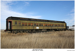 GN Coach 902 (Robert W. Thomson) Tags: railroad train coach montana railway trains cm pullman traincar gn heavyweight passengercar greatnorthern cmr coffeecreek centralmontanarail clerestorycoachusstock