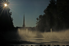 Furman Fountains and Chapel 2