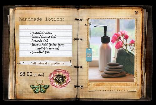handmade lotion