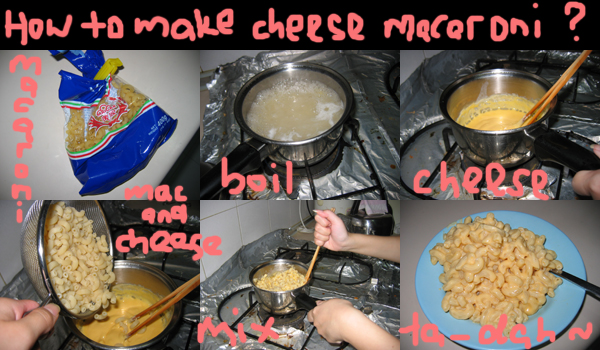 a joan cooked macaroni and cheese