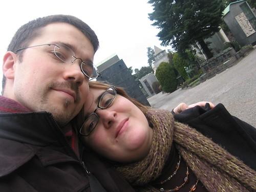 Élodie et moi à Milan