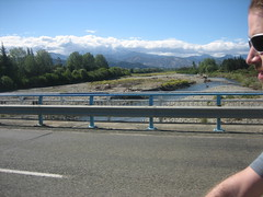 The bridge out of Tapawera (B A Hockman) Tags: bridge newzealand mountain bike river freedom cycling riding mtb marlborough ontheroad touring onthetrail tapawera onyerbike marlboroughexploration