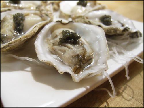 Go's Mart (Canoga Park) - Kumamoto Oyster with Caviar