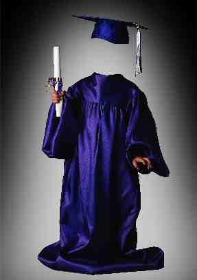 Niño graduacion