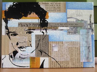 Stencil Portrait - Tricia's son