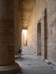 Columns (upyernoz) Tags: temple ruins columns egypt  edfu templeofedfu templeofhorus idfu