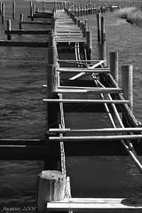 Stroll No More... (Light Your World Photography) Tags: old bw broken beauty dock walk trodden sigma50500mm pentaxk10d paulandapentax