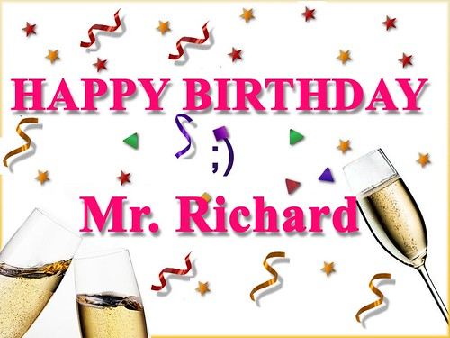 Happy Birthday Richard!