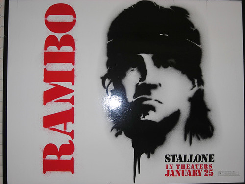 sanfrancisco movie poster actor celeb campaign rambo sylvesterstallone