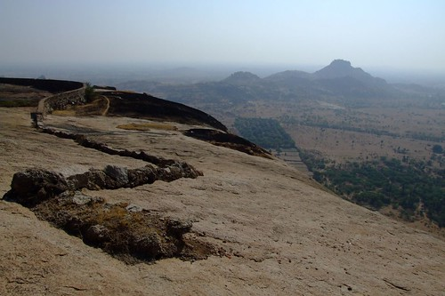 View from Bhongir Fort