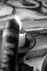 Melting Vintage Crayon