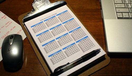 Free 2008 calendar on me!