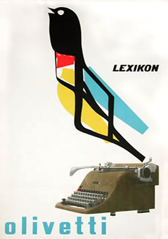 Olivetti Lexikon 80 Poster