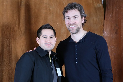 My shot with Trevor Linden