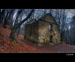 The 17th century monastery gate (Mariusz Petelicki) Tags: poland polska hdr czerna canon400d mariuszpetelicki monasterygate furtaklasztorna