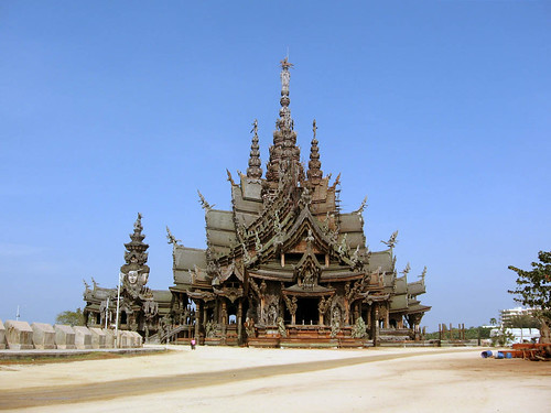 The Sanctuary of Truth @ Thailand