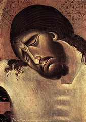 CIMABUE Crucifix (detail) 1268-71