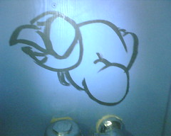 Bathroom Grafitti