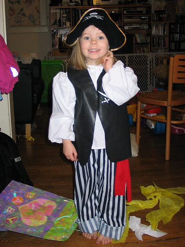 Erika as pirate
