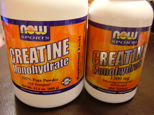 CREATINE Monohydrate bottles