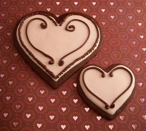Valentine cookie duet