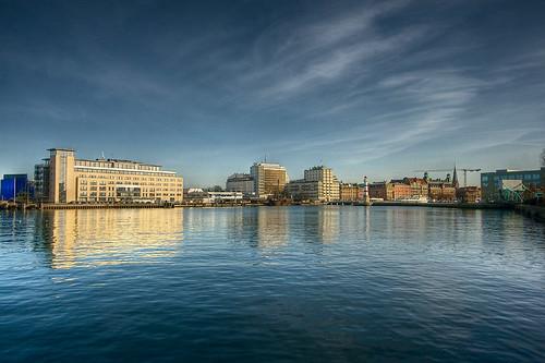 Västra hamnen, skyline