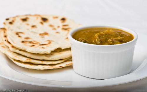 Lamb Curry & Roti