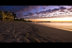 Indiana Tea Rooms (broadview) Tags: sunset beach water clouds restaurant sand footprints cottesloe indianatearooms anawesomeshot