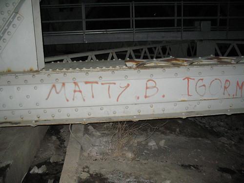 To Matty B.
