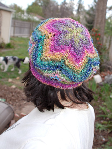 Chevron Lace Beret 2