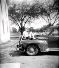 Car, girlfriend, boyfriend