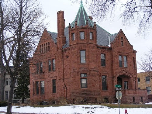 Very Nice House Across from Museum by ricklibrarian, on Flickr