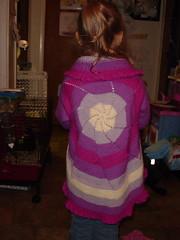 pinwheel back