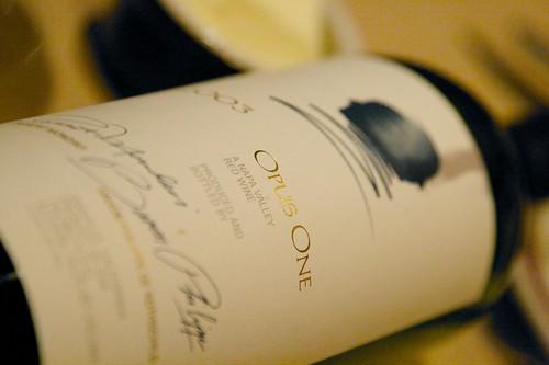 2003 Opus One