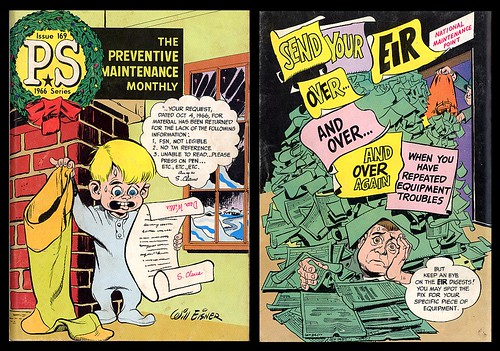 Preventive Maintenance Monthly Issue 169, 1966 (Will Eisner)