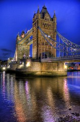 Tower Bridge (crymy) Tags: uk bridge england london tower thames night towerbridge canon river nightshot 40d canoneos40d crymy 40deurope