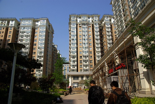 New residential area near Chongwenmen station (崇文門)