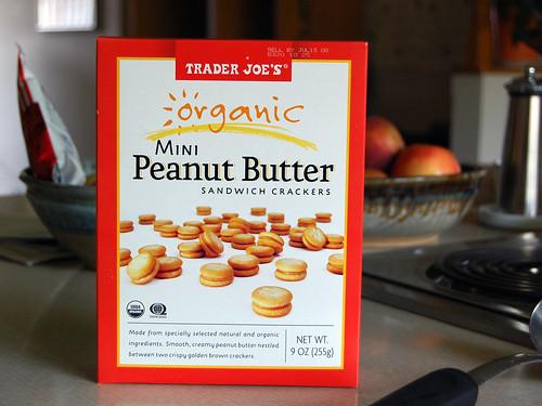Mini Peanut Butter Sandwich Crackers