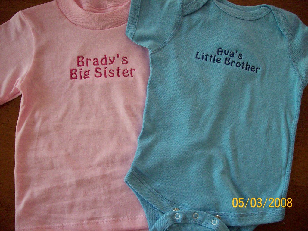 PERSONALIZED ONESIE OR T-SHIRT
