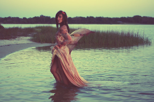 mermaid wedding dress_fairytale wedding gown_vintage wedding dresses