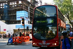 Ode to the X68 (Nicobobinus) Tags: bus london route holborn express croydon kingsway wc2 holbornstation southamptonrow x68