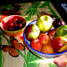 "Fruit Bowl & Cherries Wallpaper • <a style=""font-size:0.8em;"" href=""https://www.flickr.com/photos/78624443@N00/2514301425/"" target=""_blank"">View on Flickr</a>"