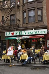 La Mela Ristorante - Little Italy, NY by jenniferrt66, on Flickr