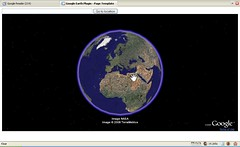 Google Earth plugin (foto door: PiAir (Old Skool))