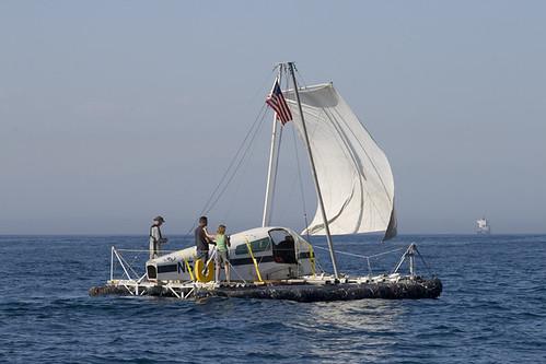 """Alaglita """"Junk"""" raft"""