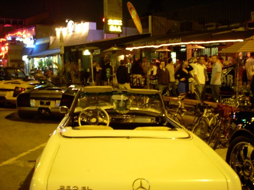 mercedes grill venice beach 10th anniversary party