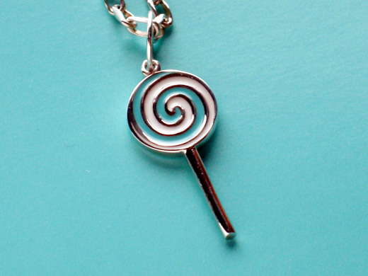 Luxurious lollipop charm