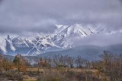 Celata nella nebbia (elfedo) Tags: campotosto abruzzo montagna neve