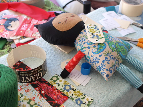 getting toy society stuff together